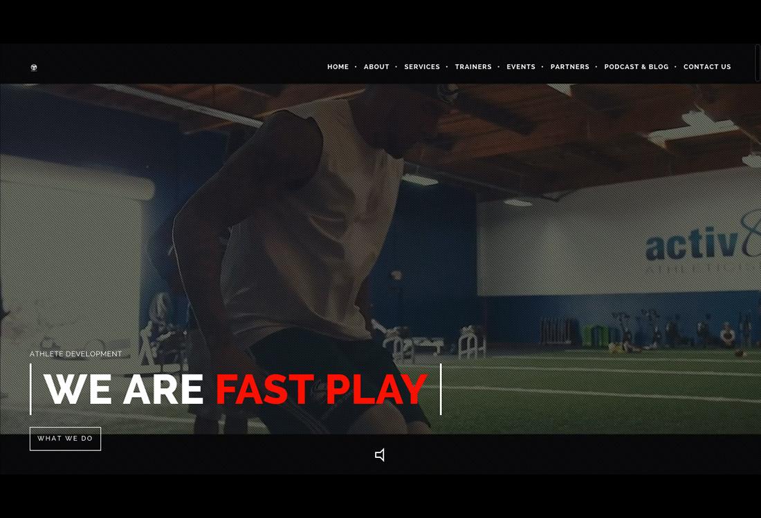 Fast Play Home Screen Shot - Home