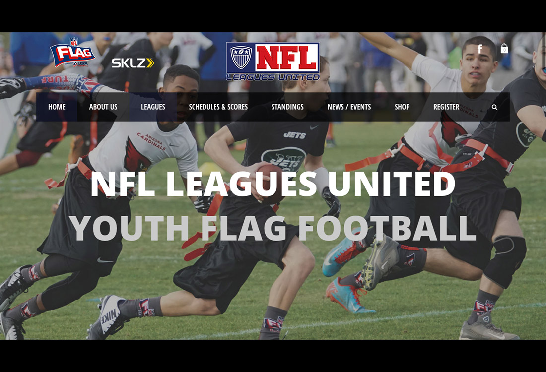 NFL Leagues United Home Screen 750 - Home
